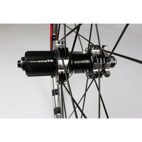406/451 Folding Road Wheels Straight Pull Hub Wheelset