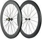 60mm Wheels Road Bike Clincher Racing Wheelset Light Weight