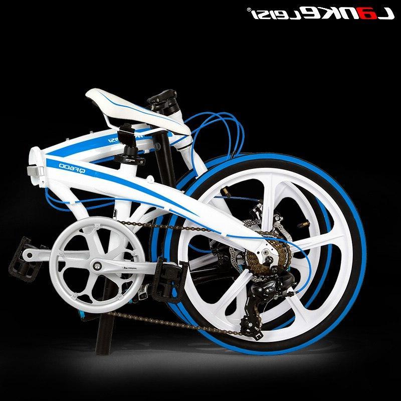 7 <font><b>Bike</b></font>, 20 Folding Frame, BMX, Double Brakes