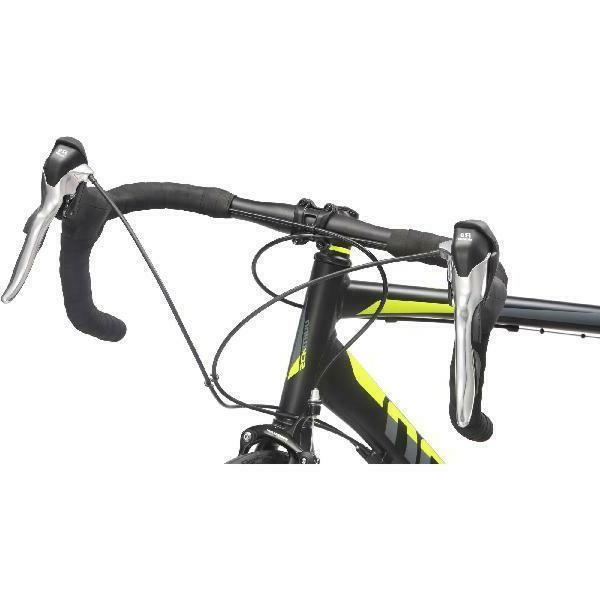 700C Men's Bike Phocus Matte Black Schwinn Bicycle Set