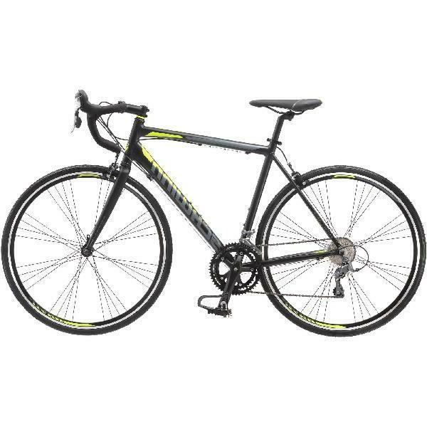 700C 1600 Bike Phocus Matte Black Schwinn Riding Set