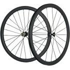 700C 38mm Carbon Fiber Wheelset Clincher Road Bike Wheel 25