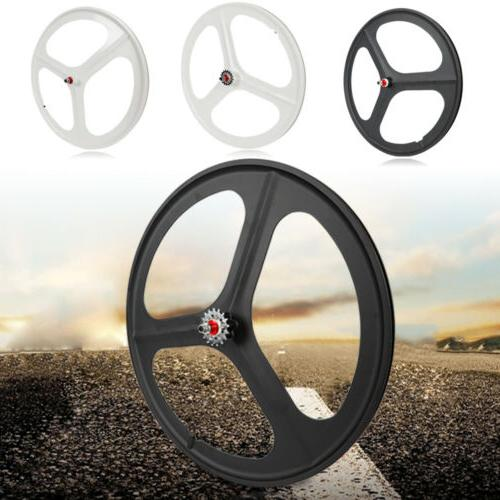 Fixed Gear Mag Wheels 700c Rims 3 Spoke Front&Rear Fixie Bik