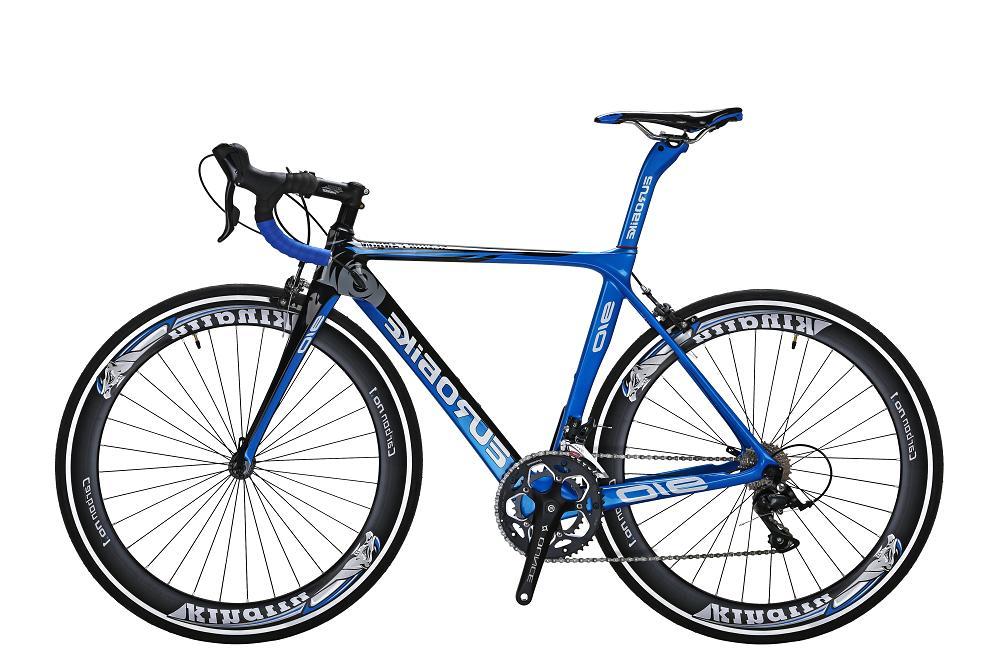 700C Road Bike 18 speed Full Carbon Fiber Frame Road Racing