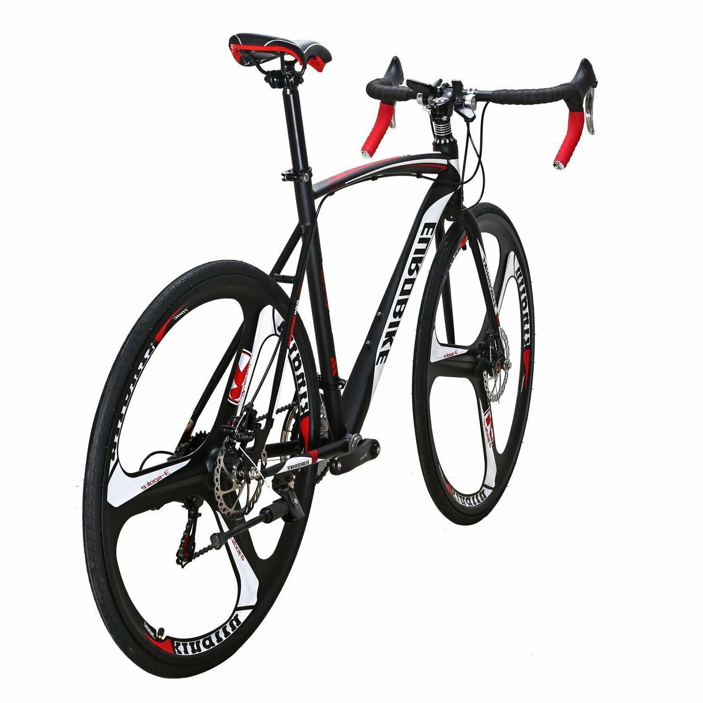 700C Road Bike 21 Speed Complete Bicycle Cycling Mens 54cm wheels