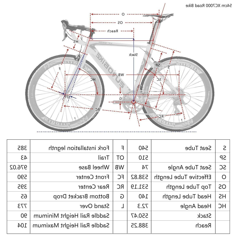 700C 16 Bicycle Bikes 54cm