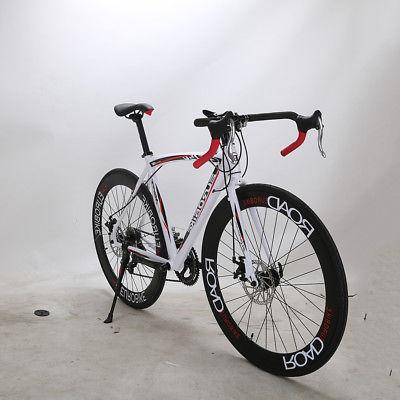 2018 Road 14 Speed Racing Disc Cycling Mens Bikes