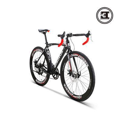 "2018 700C Road 14 Speed Disc Brakes Mens Bikes 26"""