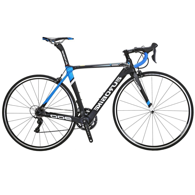 700C Bike Fiber Shimano 18 Speed Complete Bikes