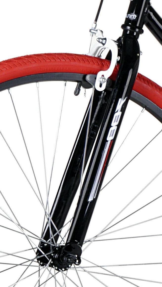 Kent Thruster Fixie Men's Bike, Black/Red BRAND NEW
