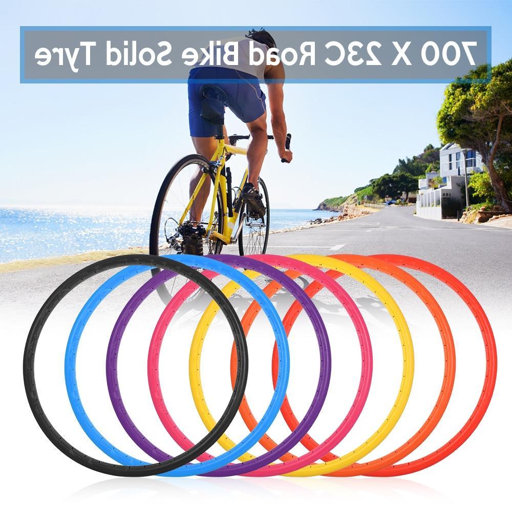 700x23C <font><b>Solid</b></font> <font><b>Tire</b></font> Road Tubeless Tyre Free <font><b>Tires</b></font> <font><b>Bike</b></font>