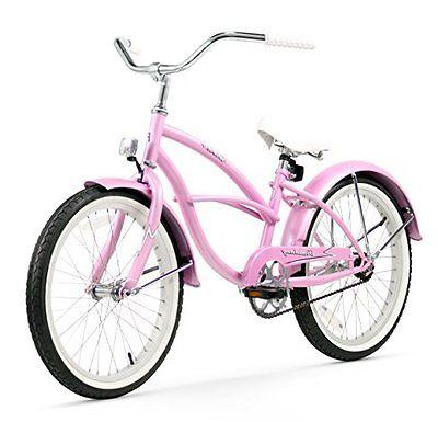 Firmstrong Urban Girl Single Speed Beach Cruiser Bicycle, 20