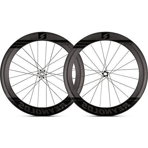 Carbon Fiber Bikes >> Reynolds Aero 65 Disc Brake Carbon Fiber Wheelset For Road Bikes Shimano Compatible