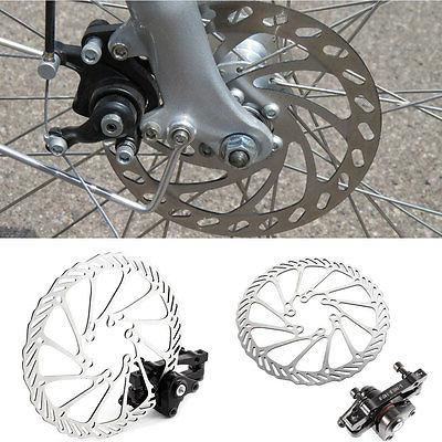 A Pair Front/Rear Caliper Disc Brake 160mm Rotor for Mountai