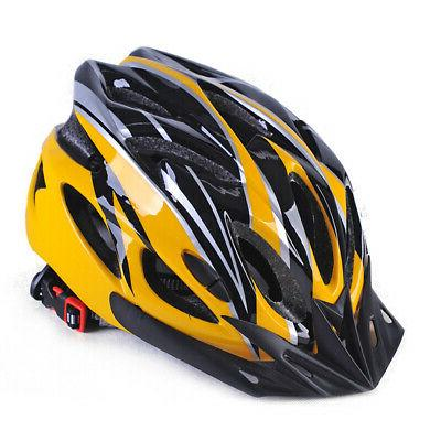 adjustable mens adult road cycling safety helmet