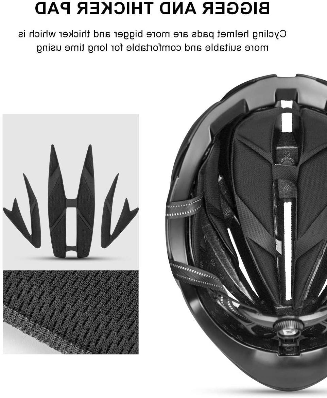 ROCK BROS Adult Bike Helmets Road for Women Men Bicycle