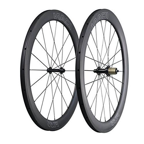 aero carbon road bike wheelset