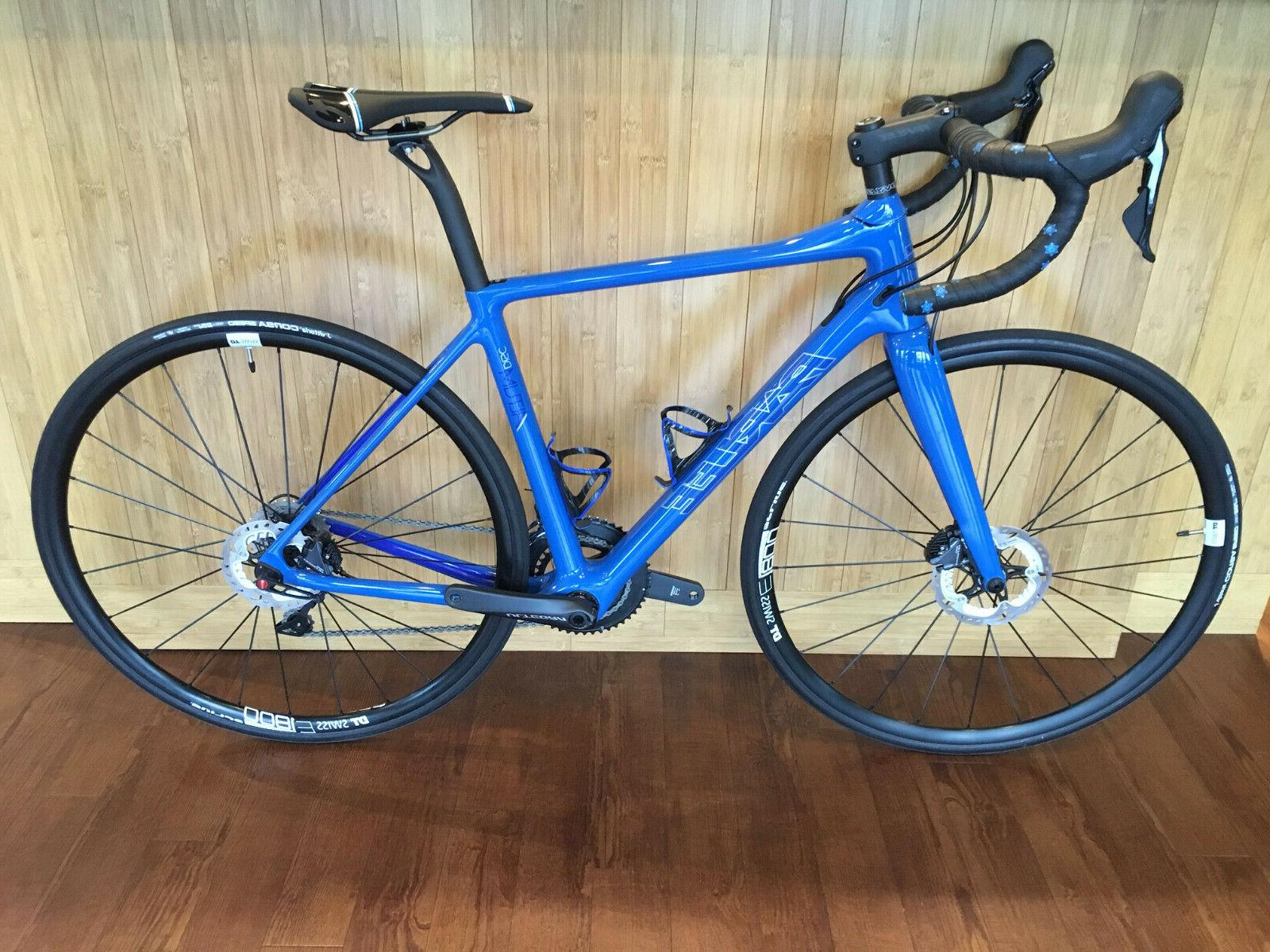 Parlee Altum Road Blue Ultegra 8000 Small Demo Upgrades