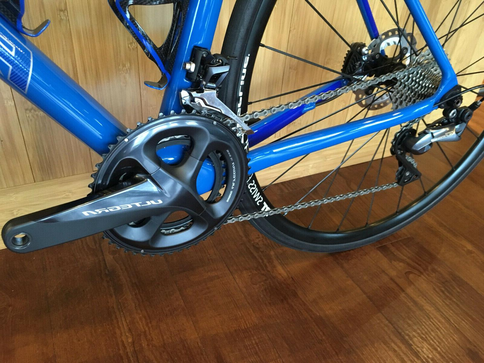 Parlee Carbon Road Bike Blue 8000 Small Demo Upgrades