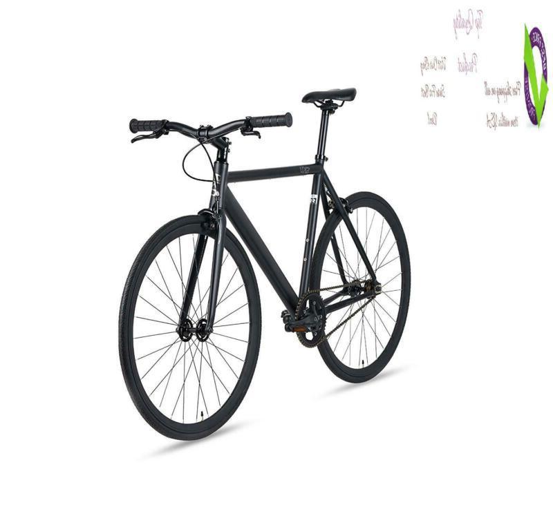 6Ku Aluminum Single-Speed Urban Bike
