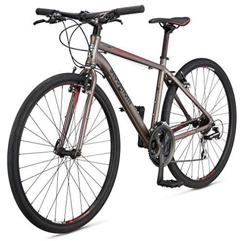 "Mongoose Comp Road Bike Silver, 20""/Large"