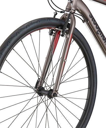 Mongoose Artery Comp Gravel Road Wheel, Silver,