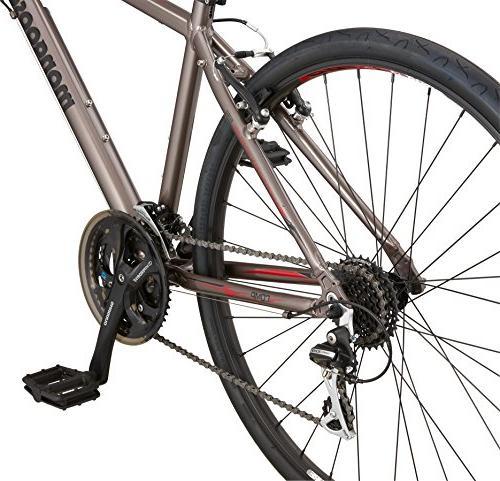 Mongoose Road Bike 700c Silver,