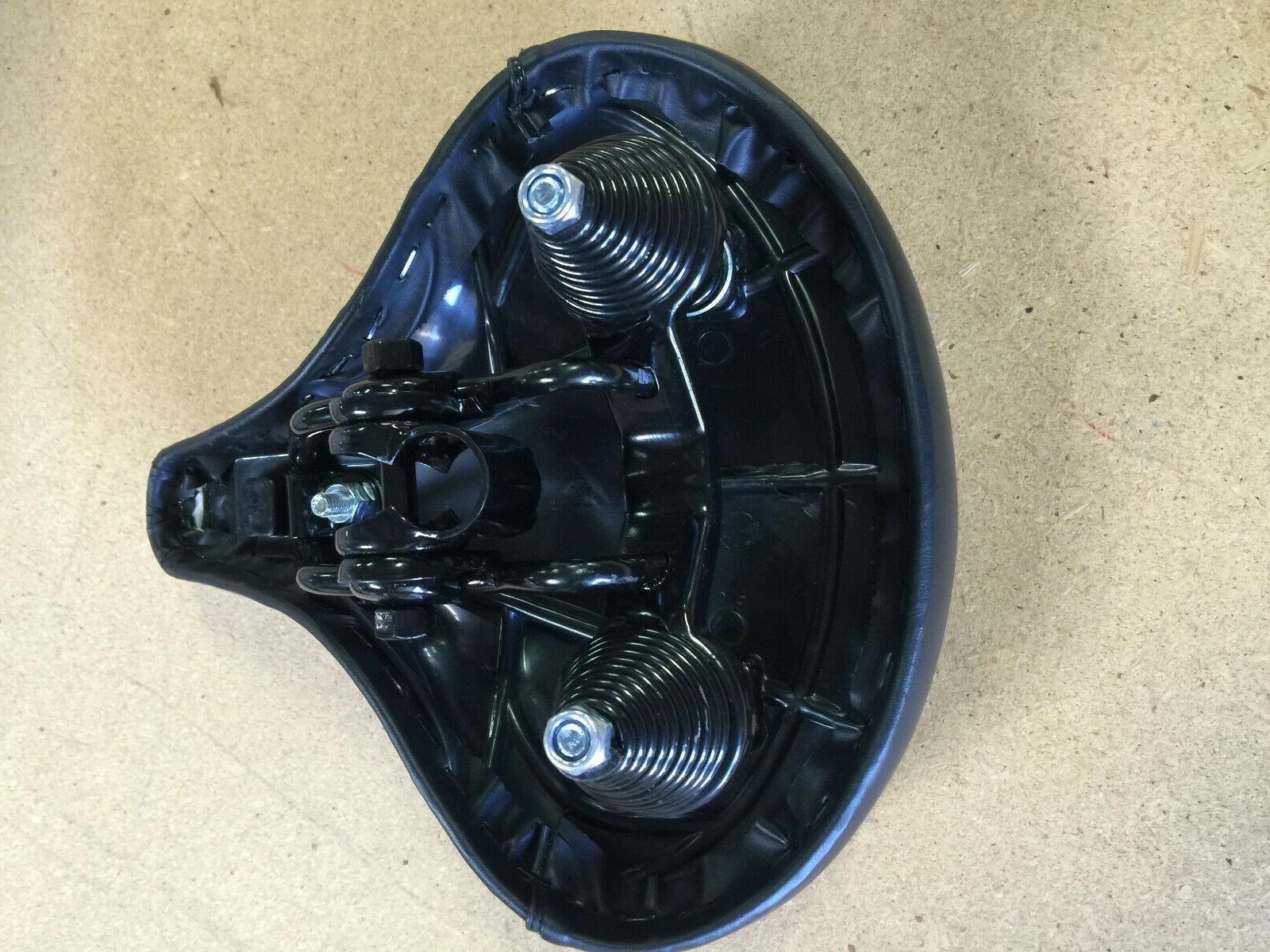 Beach Cruiser Chopper Bicycle Saddle Seat : Black