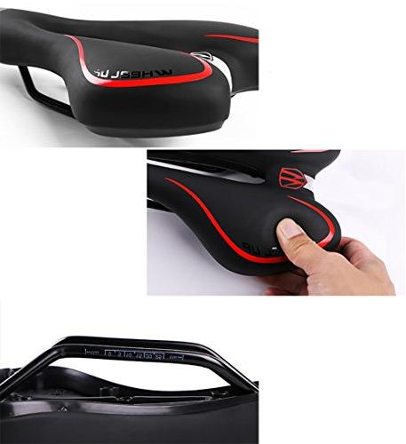 Pioneeryao Professional Seat Suspension Gel Saddle