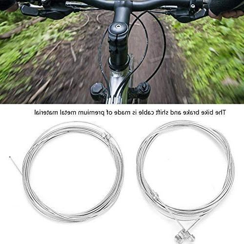 T-best Gear Kit MTB Bike Brakes Cable Gear Cable Wire Set Cycling