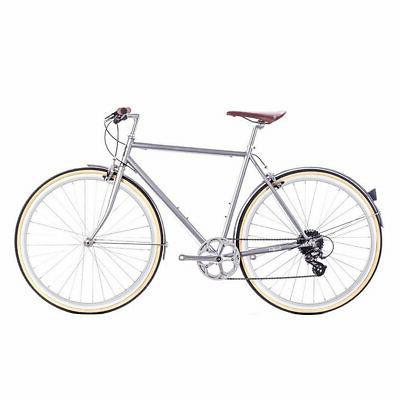 bicycle city odyssey 8v silver branford medium