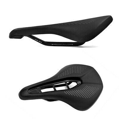 Bicycle Saddle PU Leather Hollow For