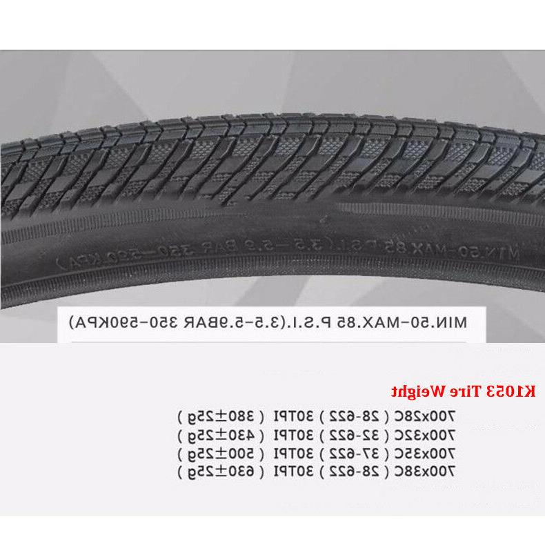 KENDA Bicycle <font><b>Road</b></font> Tire 700C <font><b>700</b></font>*28C / 32C / 35C / Tube 85PSI Wheel Tyre