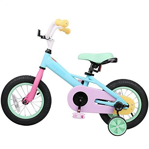 b9be039f142 JOYSTAR Macaron 12 Inch Kids Bike for 2