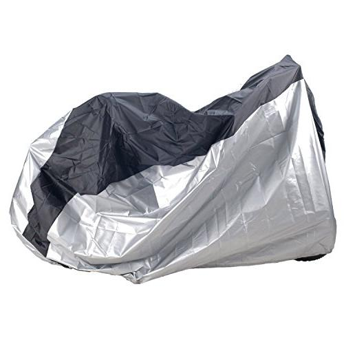 bike bicycle cover silver black