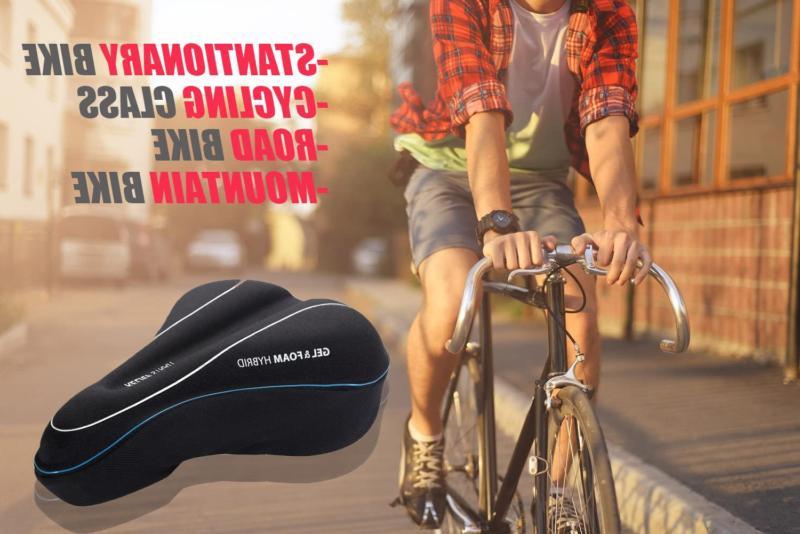 USHAKE Bike Cushion Cover, Seat Cover for Mountain Bike