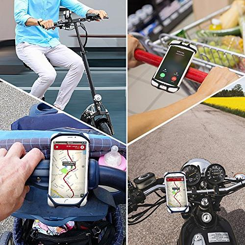 Bike Mount, Bovon Bicycle Silicone iPhone X/8/7/6 Plus, Galaxy Plus, Phones, Mountain