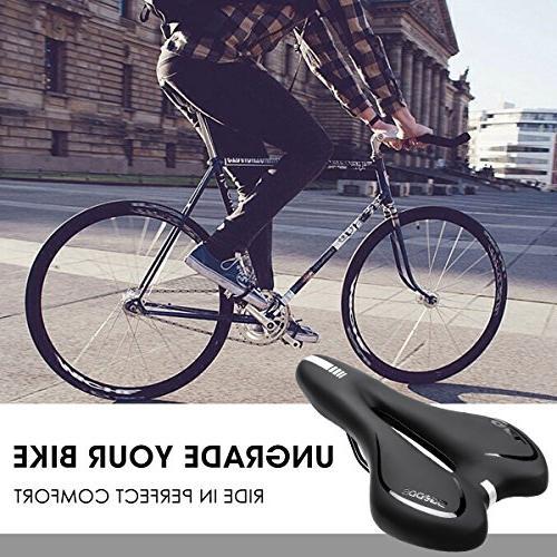 SGODDE Bike Seat, Gel Saddle Professional Saddle for Bike,