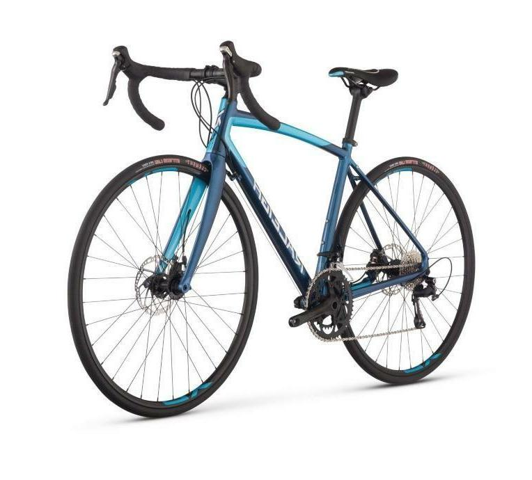 Raleigh Bikes Women's Revere 3 Endurance Road Bike, Blue, 54