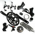Shimano Black Road Bike Bicycle Group Set Groupset Sora 3500