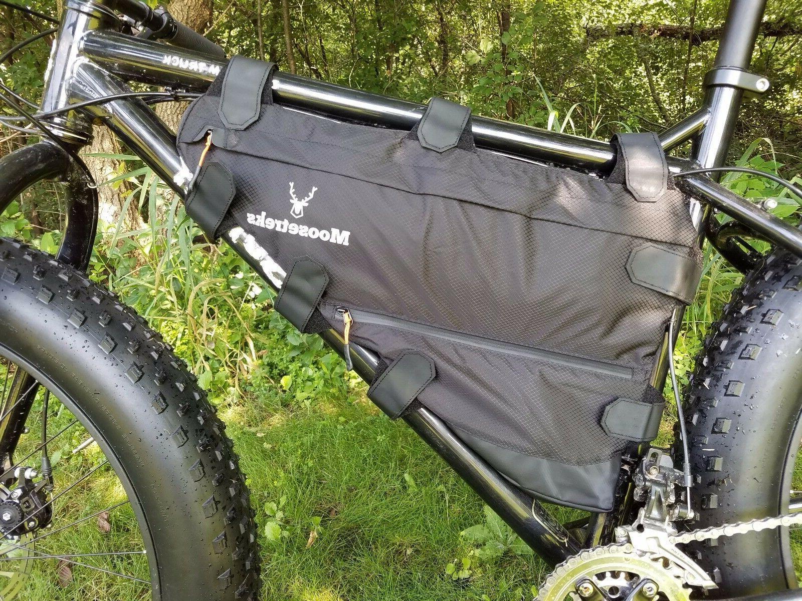 Moosetreks Touring/Road Bike Frame Bag   Bicycle