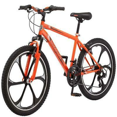 Mongoose Alert Mag Wheel Bike, 21-speed, 24-inch wheels, sus