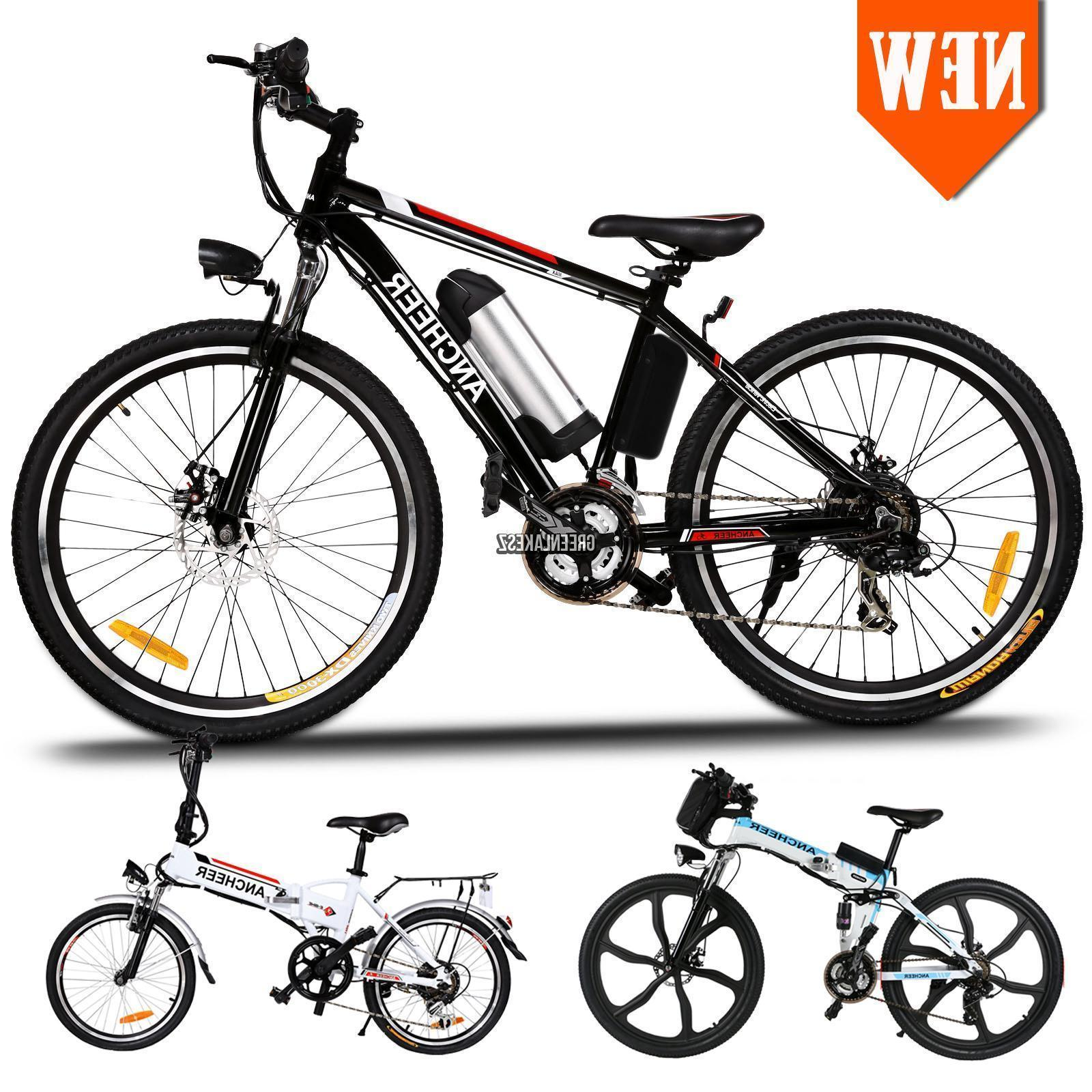 Brand New 36V 250W Mountain Bike Electric Bicycle Fat Tire E