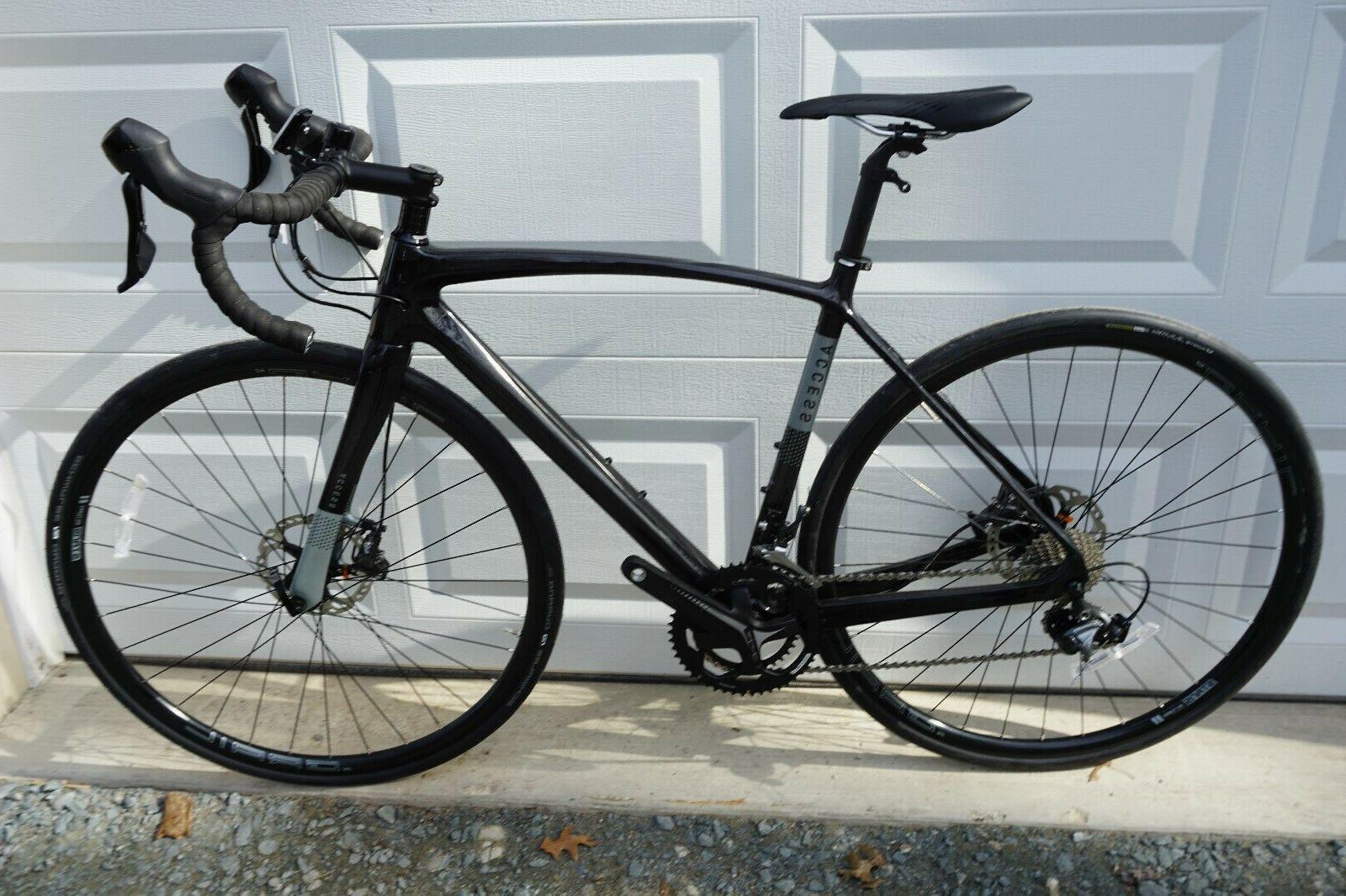 bynum carbon fiber disc road bike 50cm