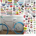 3 Sheet Car BMX MTB Road Bike Cycling Bicycle Scrapbook Deca