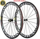 Carbon Wheels Campagnolo Hub 50mm Clincher Road Bike Bicycle