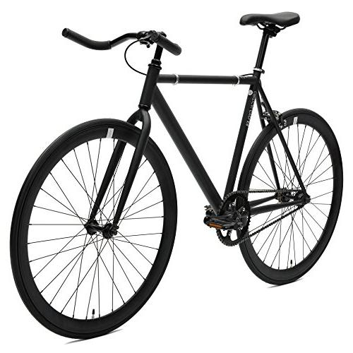 Critical Single-Speed Bike with Pursuit Black,