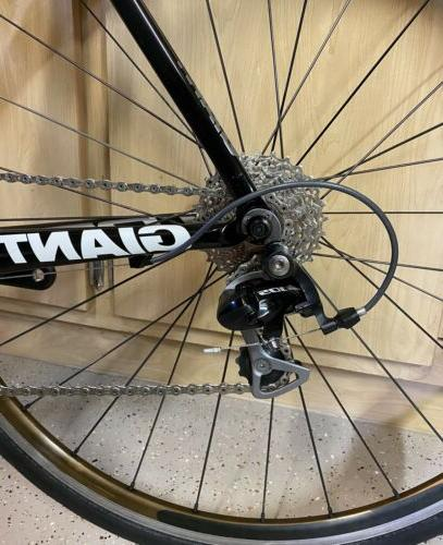 CLEAN! Giant TCR Carbon Shimano 105 Bike M/L