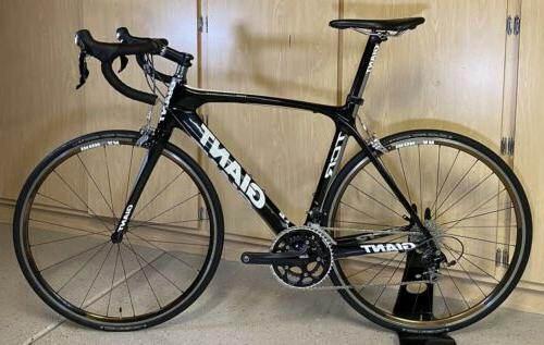 clean tcr advanced carbon shimano 105 road