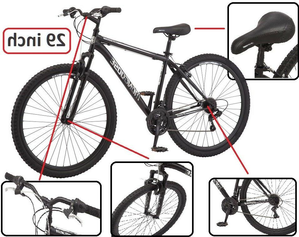 Comfort Bikes 29Inch Steel Mountain Frame Efficient Giant Be